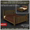 Clutter for Builders - Mesh Mission Bed 01 Kit