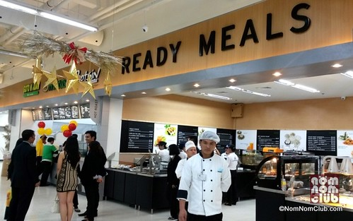 Ready Meals area