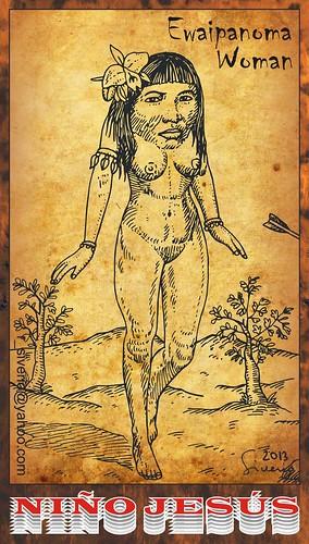 Ewaipanoma Woman (Mujer Ewaipanoma) by Niño Jesús