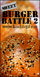 Blog-Event XCIV - Sweet Burger Battle