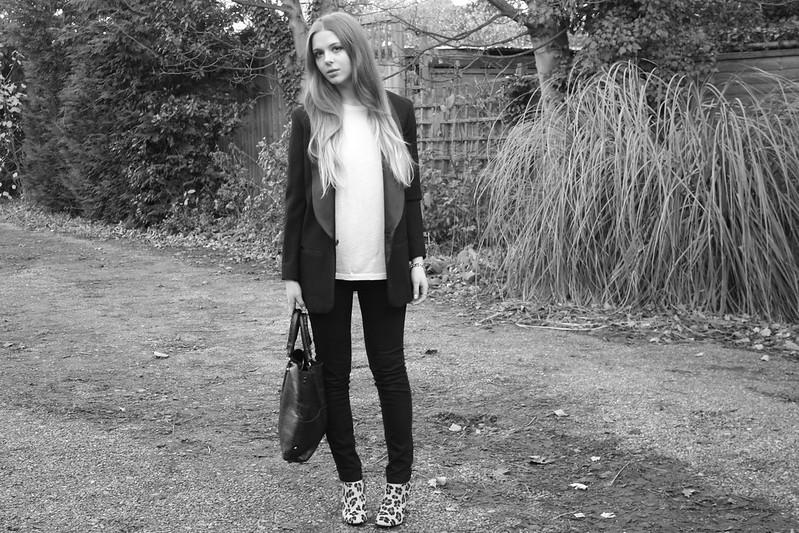 Isabel Marant pour H&M tuxedo blazer