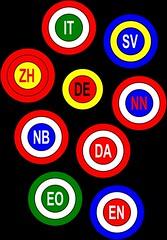 Language symbols
