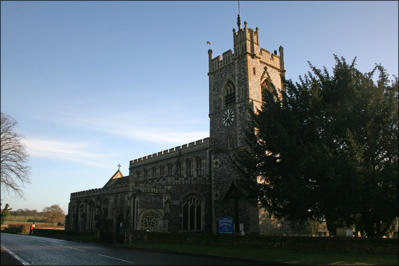 Straford St Mary church