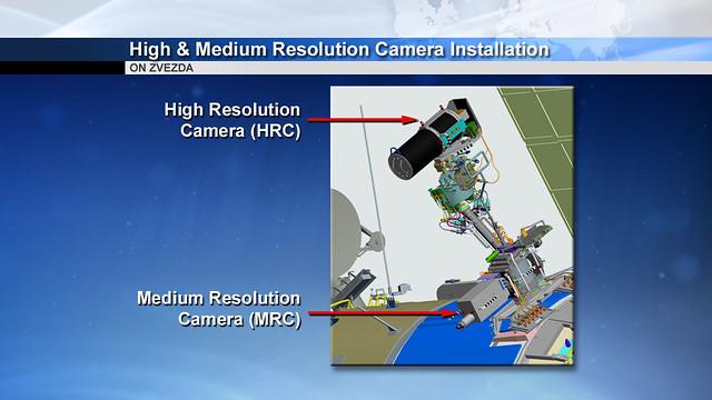 03 High & Medium Resolution Camera Installation