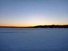 2014 01 02 sunset on lake
