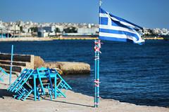 Drapetsona-Strand 2013, Griechenland. Photo: Thanasis Theocharidis / flickr. Creative Commons Licence Namensnennung, nicht kommerziell, Weitergabe unter gleichen Bedingungen