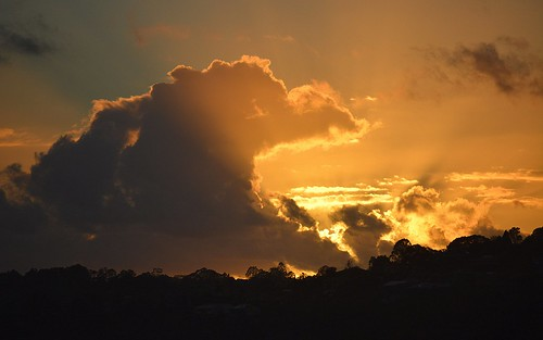 morning sky sunrise dawn countryside day cloudy australia nsw cloudscape northernrivers sunlitclouds sunlightthroughclouds