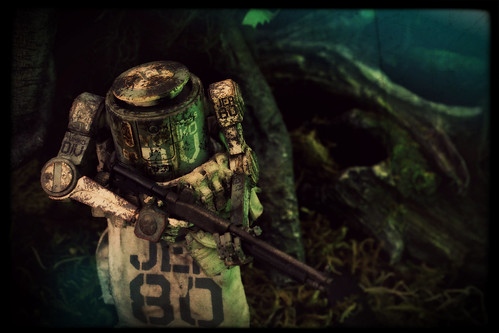 Ashley Wood's World War Robot - 1/12 Dropcloth [Marine JEA Division Variant]