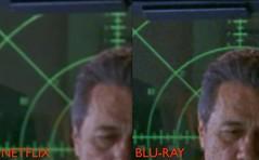 Battlestar Galactica Netflix vs Blu-Ray 200%