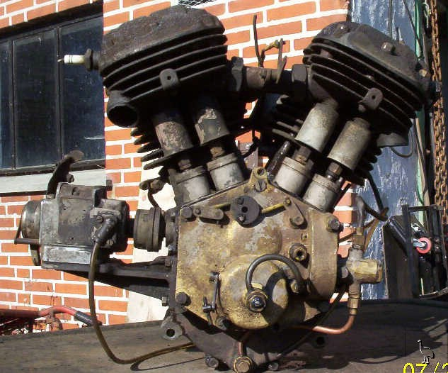 v twin specials rotavator and railway engines jap howard 1300cc jap vtwin