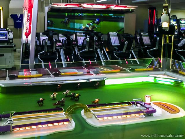 Simulador de carreras de caballos