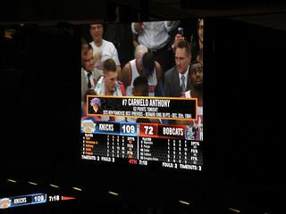 Carmelo Anthony, 62 Points Tonight