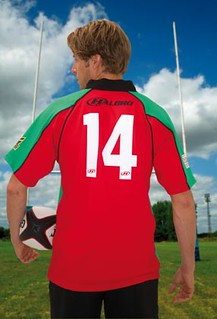 Number 14 backside printed Sport T Shirt