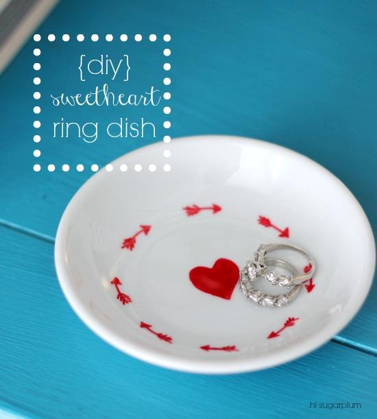 Hi Sugarplum Diy Sweetheart Ring Dish: hi sugarplum