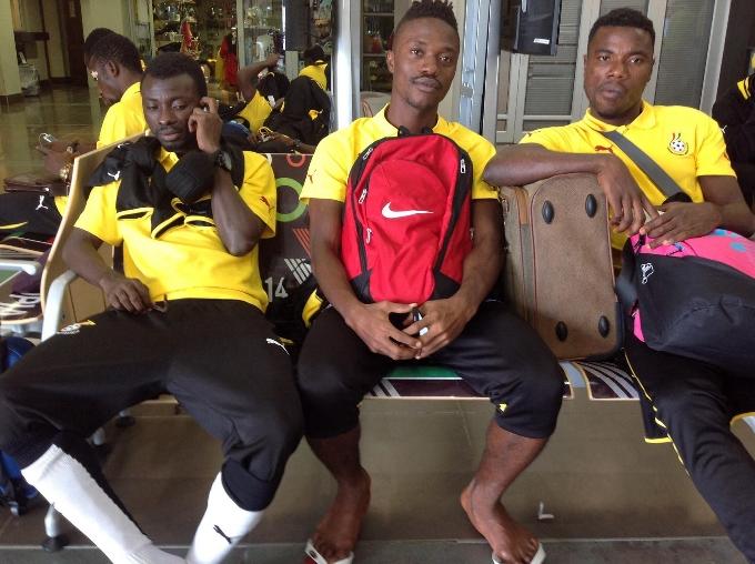 Captain Jordan Opoku,Abraham Asiedu Attorbrah(AAA) and Abieku Ainoonson