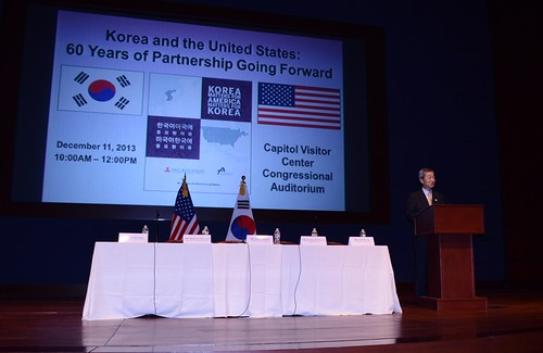 """H.E. Ho-young Ahn spoke about how the US-ROK relationship will only continue to grow from """"Strength to Strength"""""""