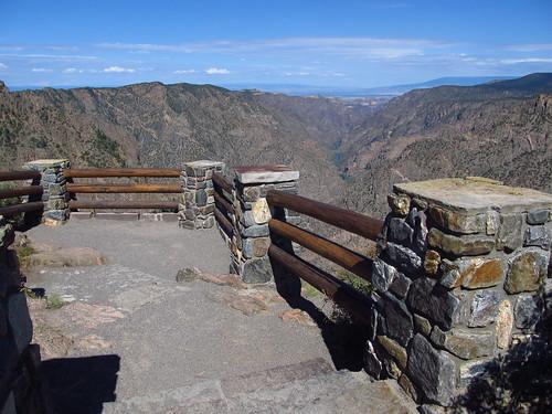 landscape nationalpark scenery colorado nps roadtrip nationalparkservice blackcanyonofthegunnison sunsetview
