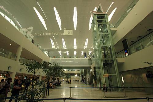Interior Bandara Kuala Namu, Medan