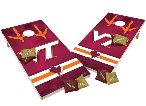 Virginia Tech Hokies Trojans Custom Cornhole Boards XL