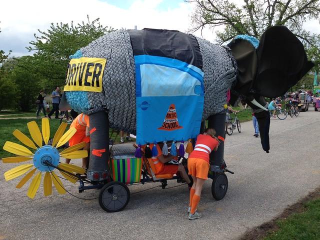 Baltimore Kinetic Sculpture Race (2014)