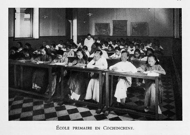 1931 École primaire en Cochinchine
