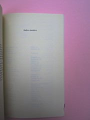 Roland Barthes, Variazioni sulla scrittura. Einaudi 1999. [Responsabilità grafica non indicata]. Indice sinottico: pag. 129 (part.), 1
