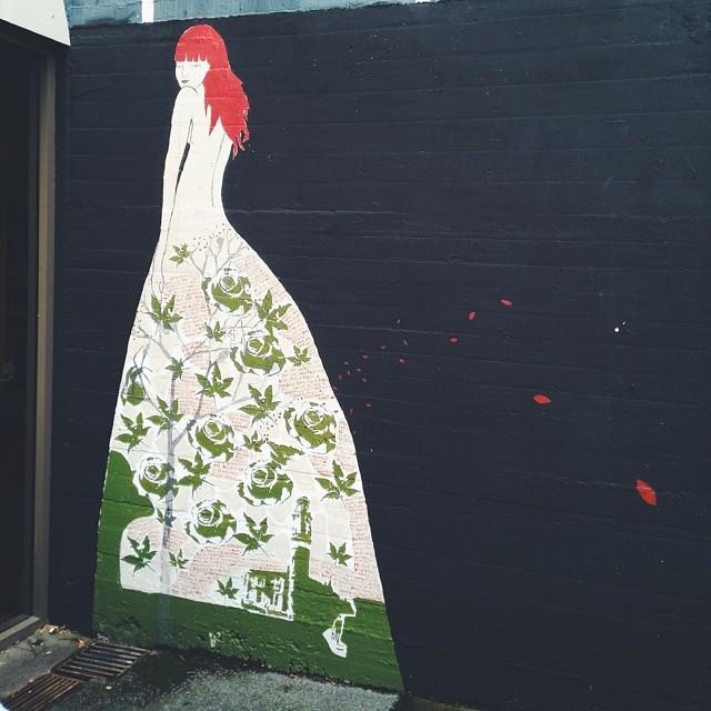 Pretty #Launceston street art