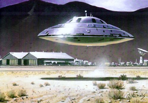 UFO Conspiracy/Roswell Conspiracy/Area 51 Conspiracy