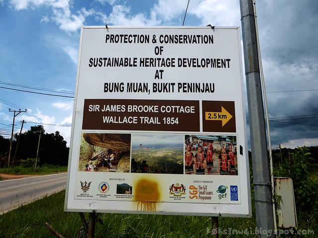 01 Bukit Serumbu Signboard