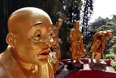 Temple of 10,000 Buddhas Sha Tin.Hong Kong.