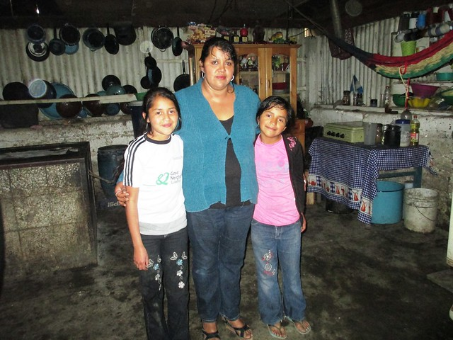 This Mother Hopes Her Girls Grow Up to Attend College Outside Their Rural Guatemalan Town, May 2014