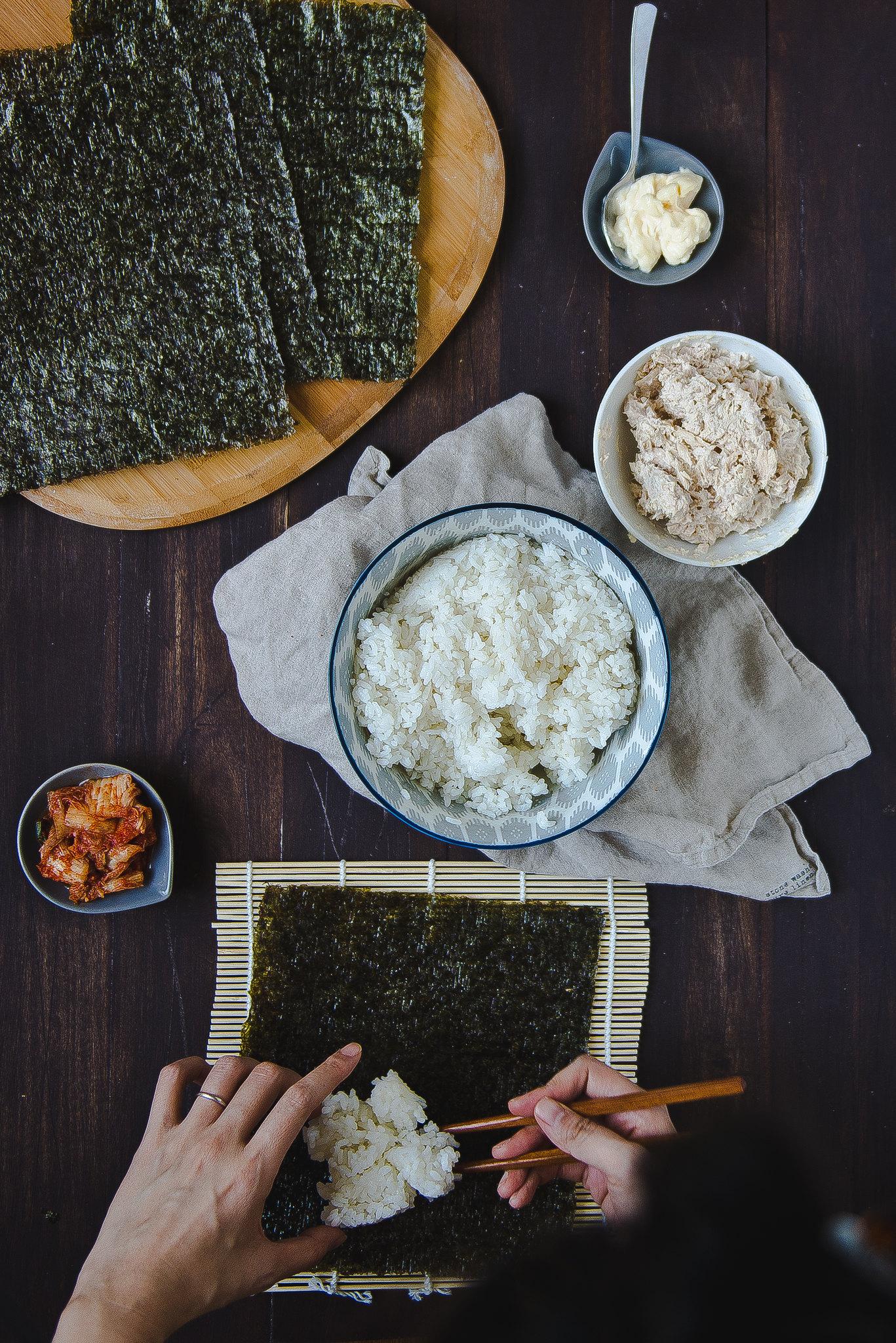 Chamchi kimbap.