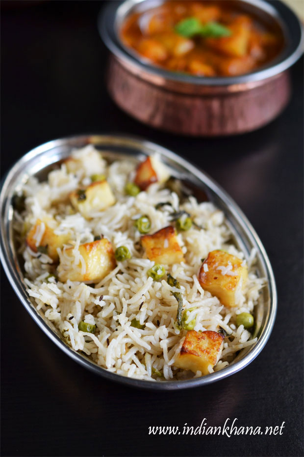 Paneer-Pulao-Recipe