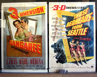 3-D Posters, Hollywood