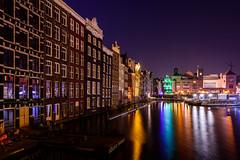 Amsterdam Light at Night