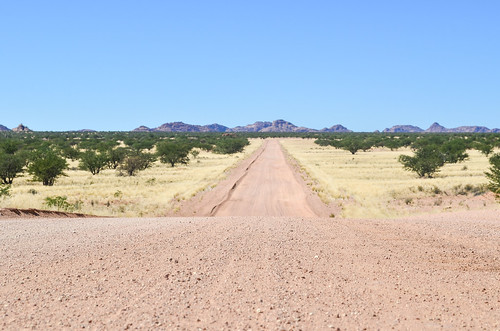 Beautiful roads of Damaraland