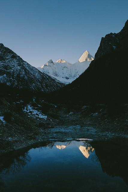 Sacred Mountain's Reflection