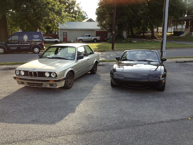 BMW E30 vs  Miata Owner's Review - MX-5 Miata Forum