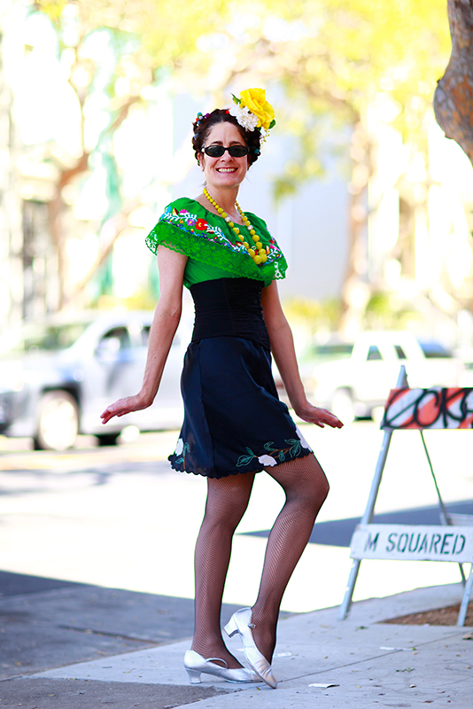 maureen_fridakahlo street style, street fashion, women, San Francisco, Folsom Street, Quick Shots, Frida Kahlo Birthday