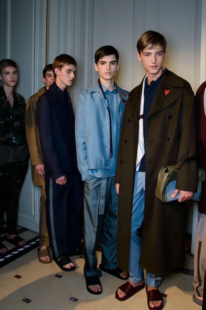 SS15 Paris Valentino499_Valerio Schmidt, Matthieu Gregoire, Adam Abraham, Jules Mas, Abel van Oeveren(fashionising.com)