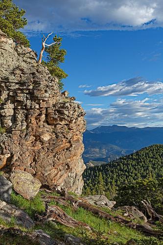 trees mountain rock forest landscape colorado unitedstates places rockymountainnationalpark