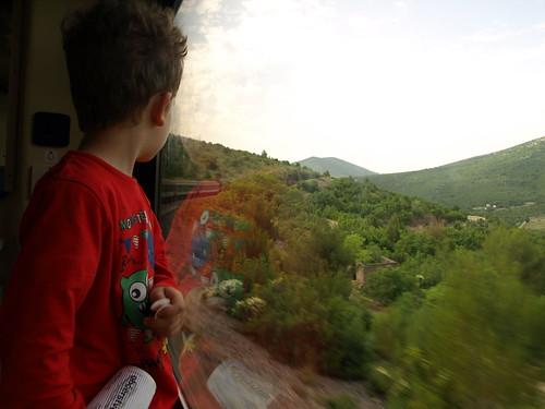 Praha - Split vlakem, 12.-13.6.2015