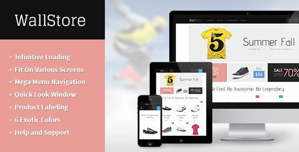 JM Wall v1.0.2 – The Ultimate Responsive Magento Theme