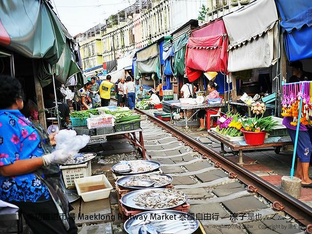 美功鐵道市場 Maeklong Railway Market 泰國自由行 21
