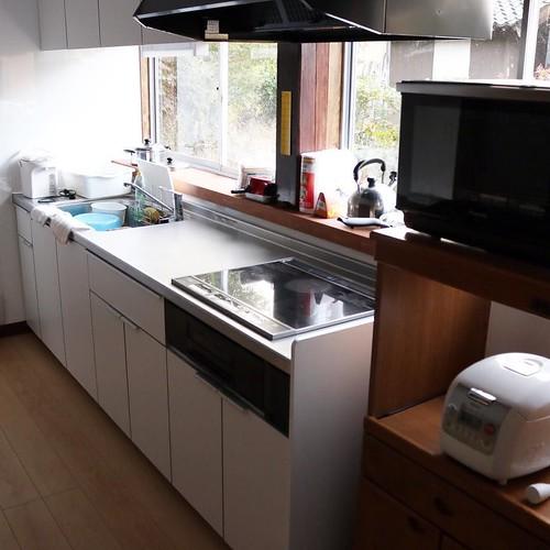キッチン、トイレ、バスはリノーベーションされてました。 #なんと #南砺 #富山県