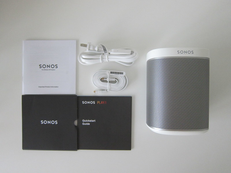 Sonos PLAY:1 - Box Contents