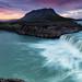 Þjófafoss - thieves falls - panorama by Arnar Bergur