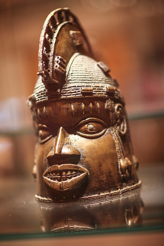 Brass Helmet Mask