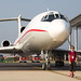 Me with the Air Koryo Tu-154 in Wonsan by Quixoticguide / www.quixoticguide.com