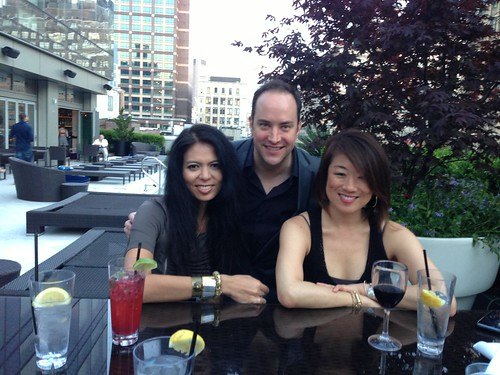 CHRISTINA SEVILLA, DAVID VENNETT, PAMELA SORENSEN AT THE TRUMP SOHO